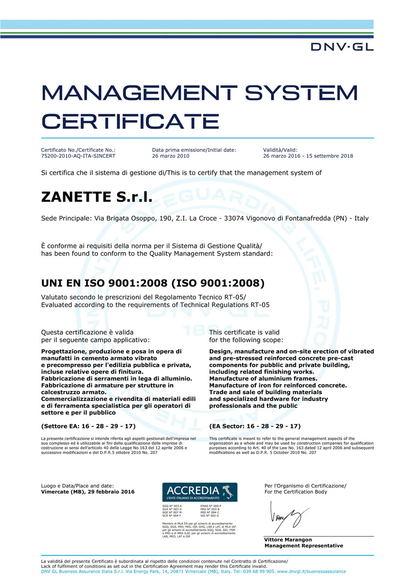 CE ISO-9001